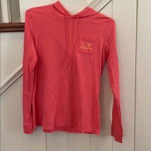 Vineyard vines hoodie long sleeve shirt